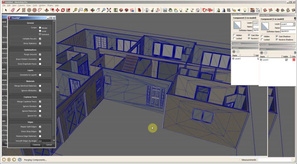 plugins-para-sketchup-cleanup