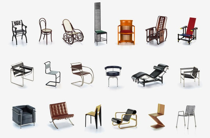 presente-para-arquiteta-miniaturas-de-cadeiras