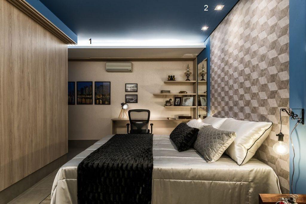 qual-a-iluminacao-ideal-para-quarto-sanca-e-spot