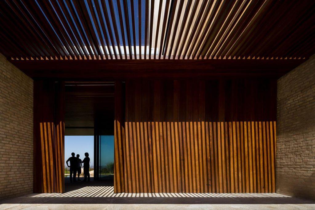 Arthur Casas: Casa MS - entrada