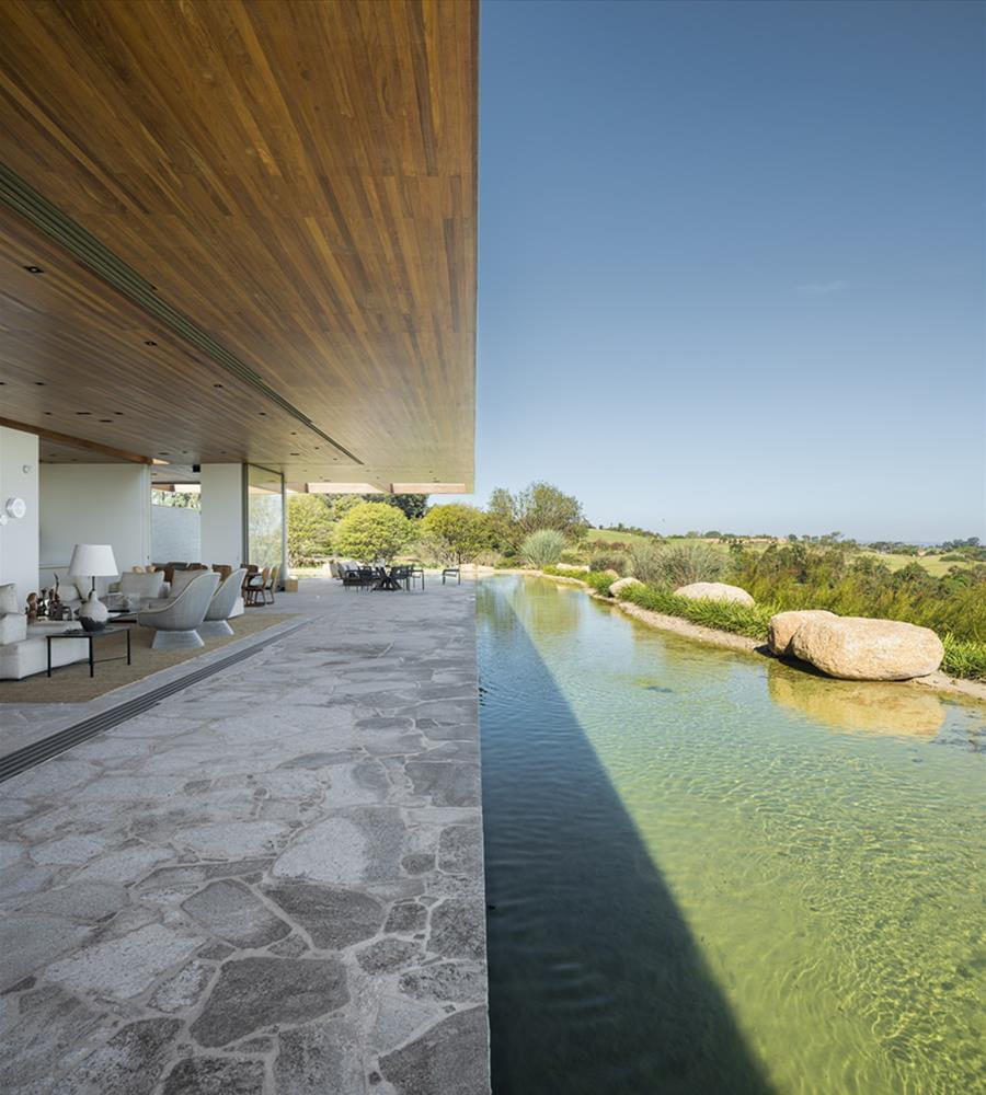 Arthur Casas: Casa MS - varanda