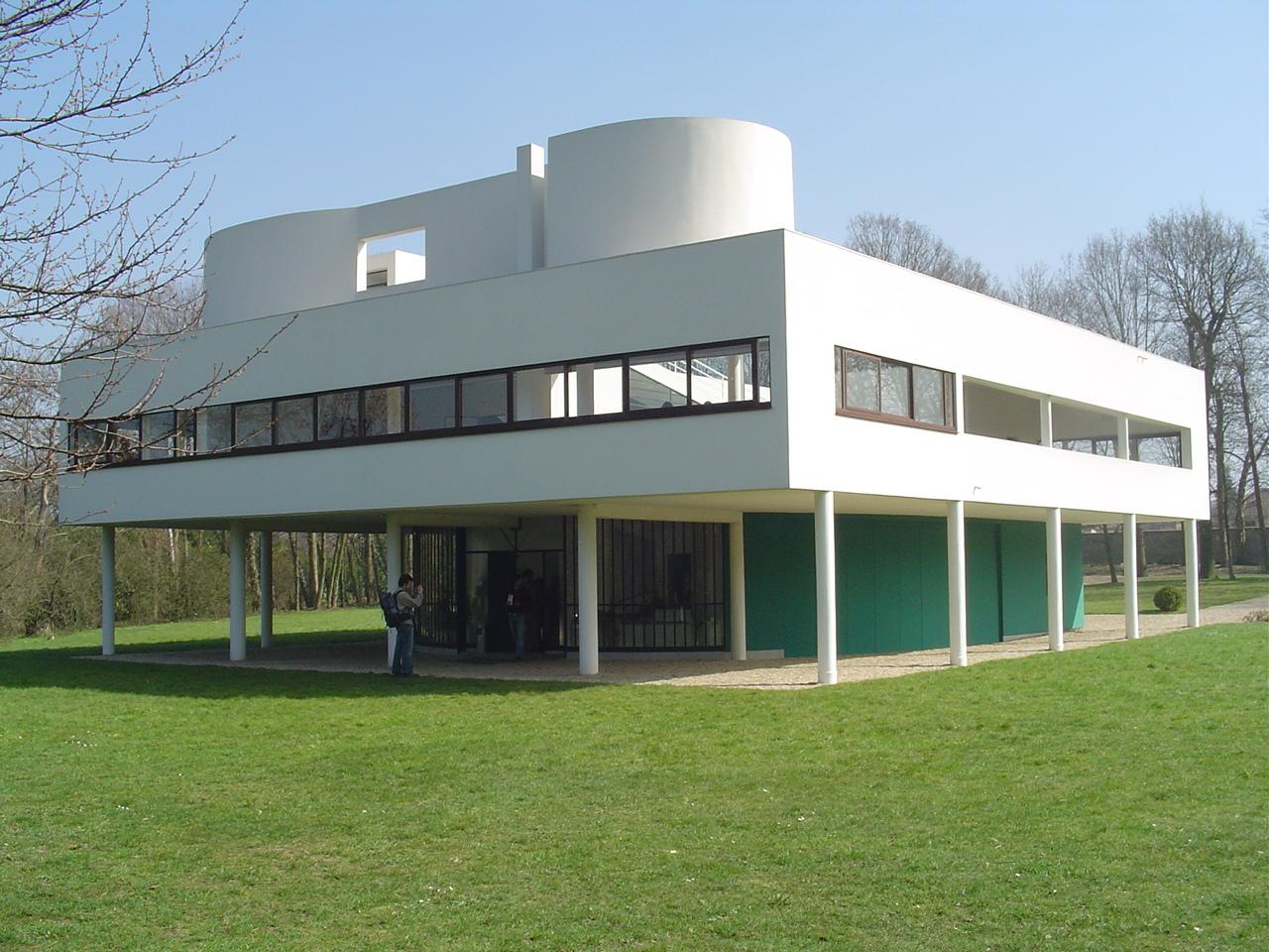5 pontos da arquitetura moderna de le corbusier caracter sticas e uso - Le corbusier casas ...