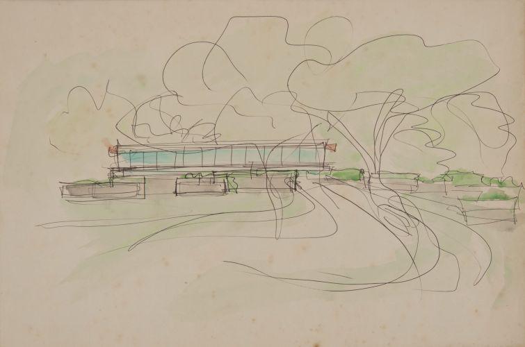 croqui-arquitetura-lina-bo-bardi-casa-de-vidro
