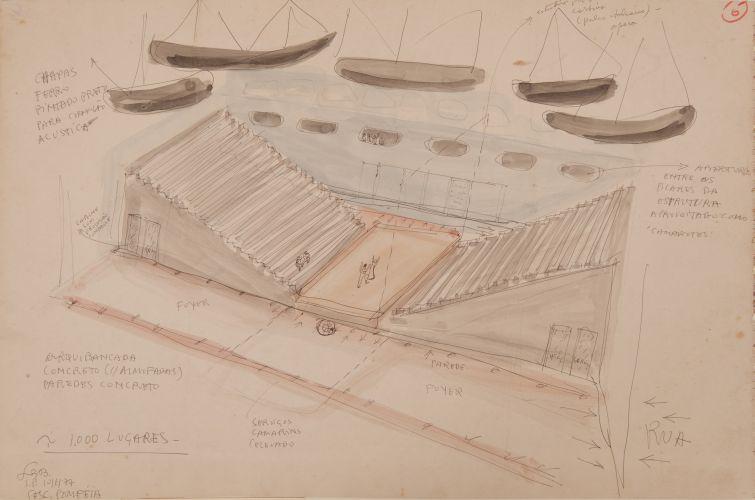 croqui-arquitetura-lina-bo-bardi-sesc-pompeia-interior