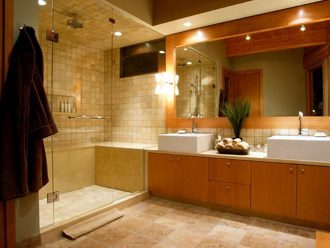 Iluminação ideal para banheiro: claro com spots