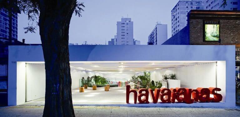 Isay Weinfeld: Havaianas - Fachada