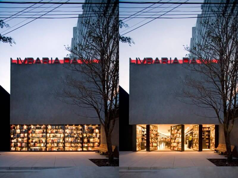 Isay Weinfeld: Livraria da Vila - fachada