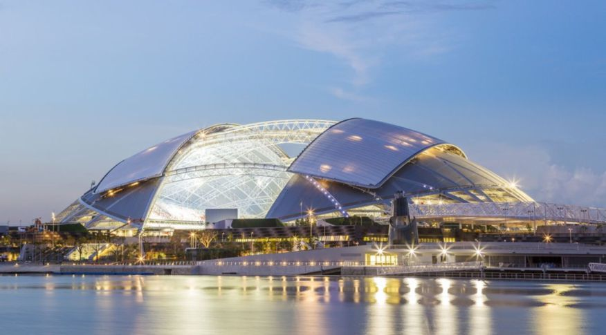 melhores-escritorios-de-arquitetura-dp-architects-singapore-sports-hub