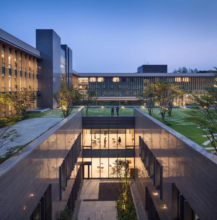 melhores-escritorios-de-arquitetura-junglim-hyundai-marine-fire-insurance-division-center