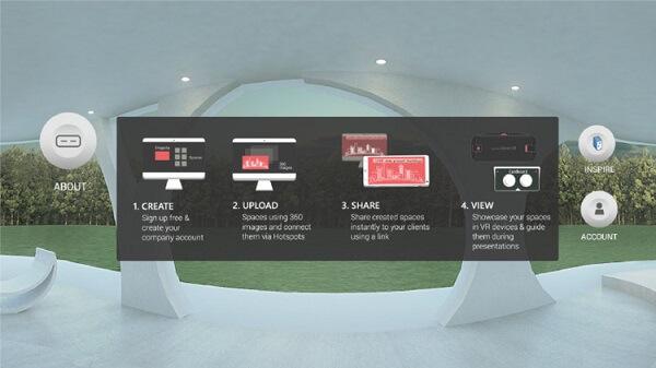 Realidade virtual na arquitetura: Sentiovr