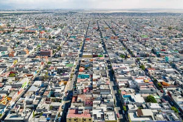 O que é mobilidade urbana: vista cidade do México