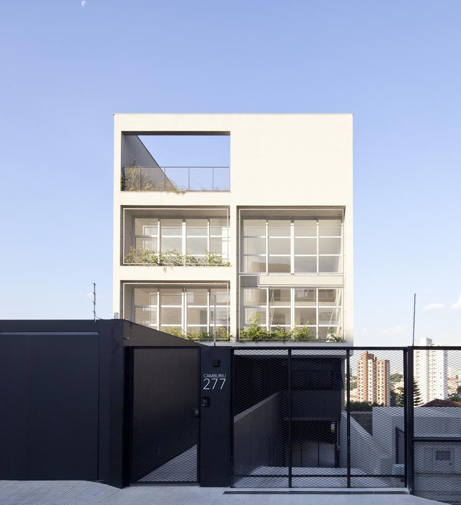 ar arquitetos: edifício camburiu - fachada