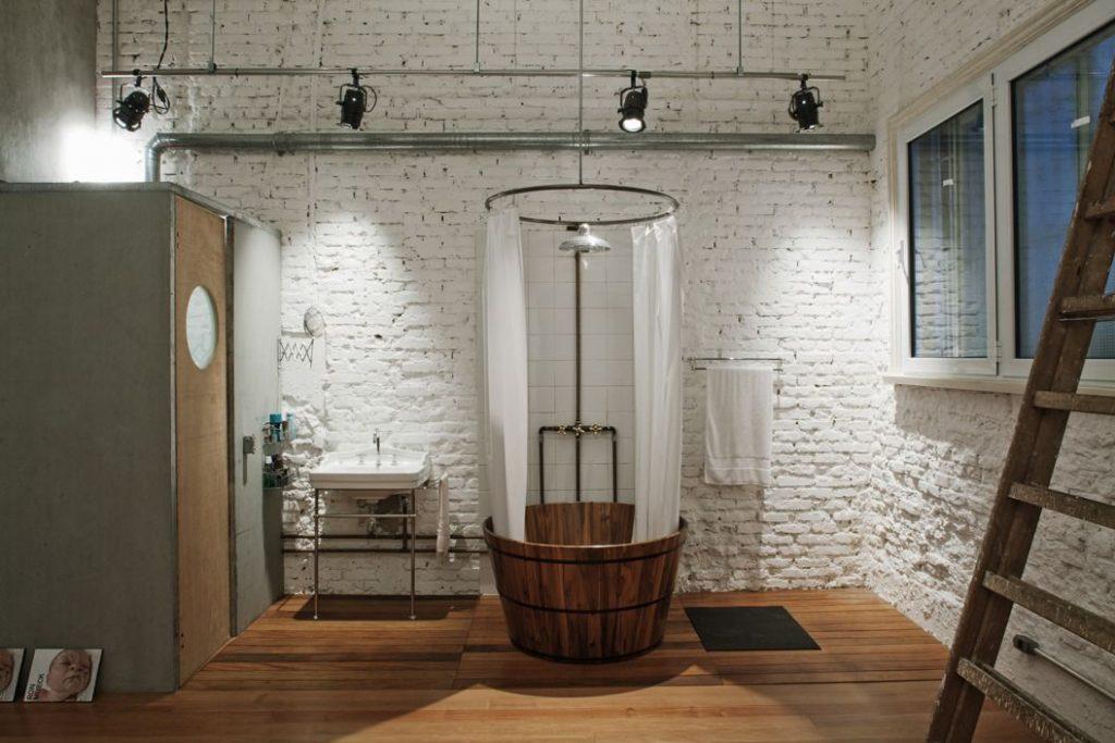 ar arquitetos: loft cinderela - banheiro