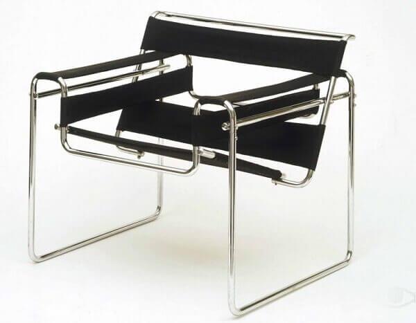 Bauhaus Arquitetura: Cadeira Wassily Breuer