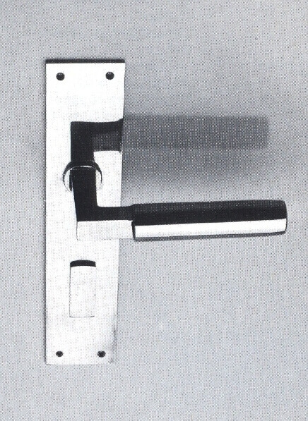 Bauhaus Arquitetura: Maçaneta Gropius