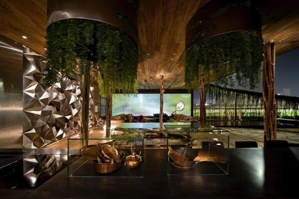 Fernanda Marques: loft de inverno sustentável - troncos