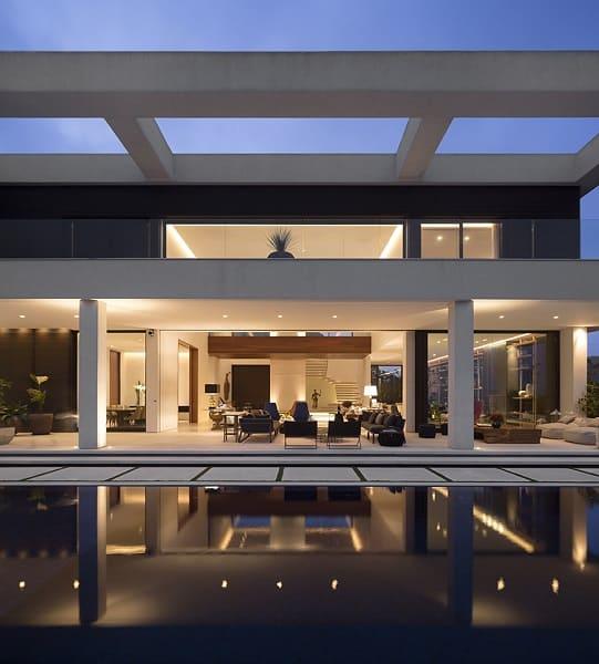 Fernanda Marques: residência jaraguá - piscina