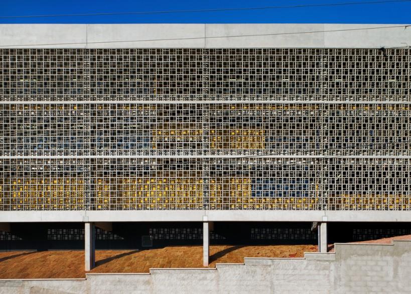 obras fgmf arquitetos: escola várzea paulista - fachada