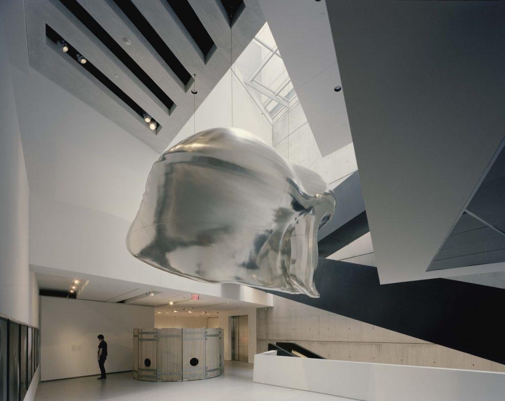Zaha Hadid: Interior do Centro Rosenthal