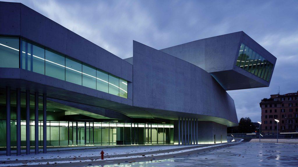 Zaha Hadid: Museu Maxxi