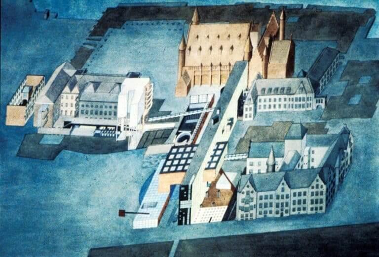 Zaha Hadid: Ilustração do Parlamento Holandês