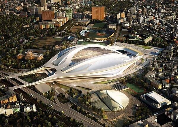 Zaha Hadid: Estádio criado para as Olimpíadas de Tóquio 2020
