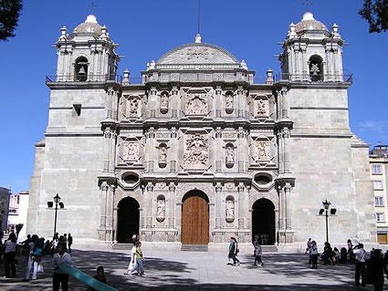 arquitetura-mexicana-catedral-oaxaca