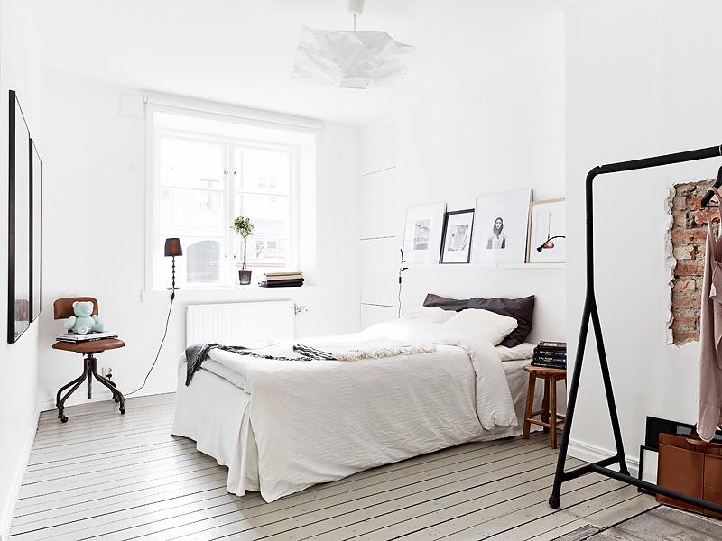 design-escandinavo-quarto-com-arara