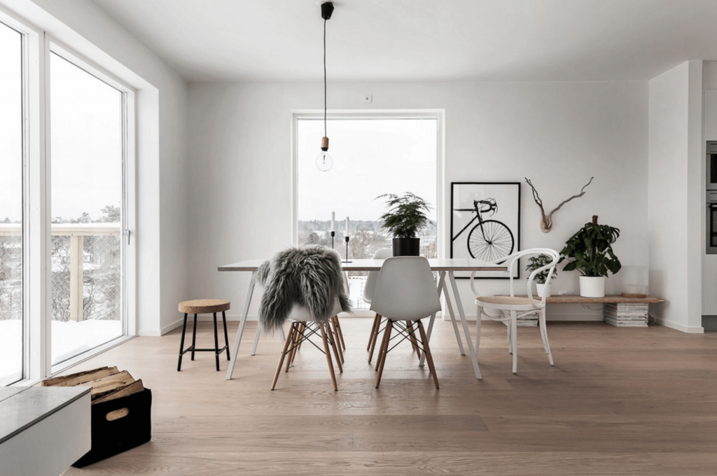 design-escandinavo-sala-jantar