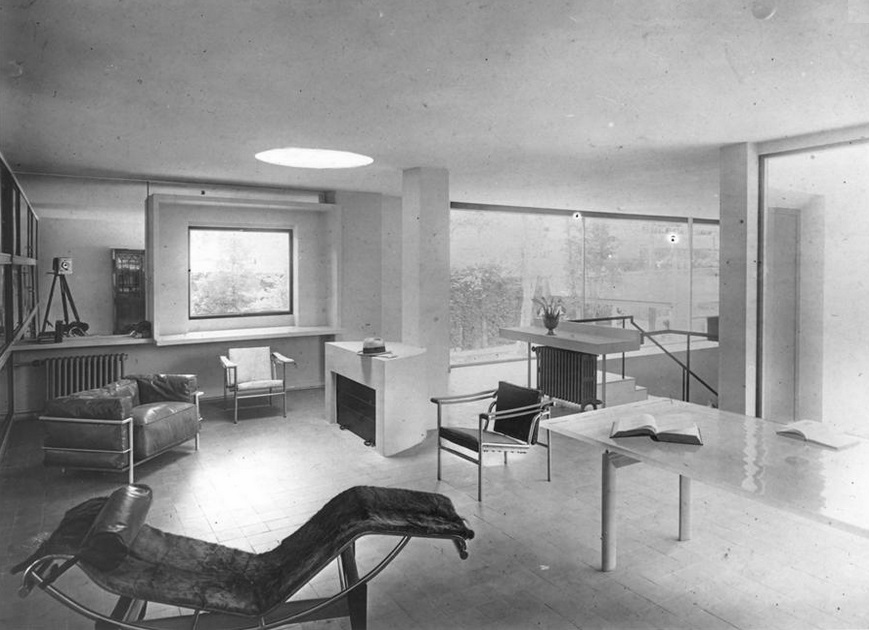 historia-do-design-de-interiores-modernismo-villa-church-le-corbusier