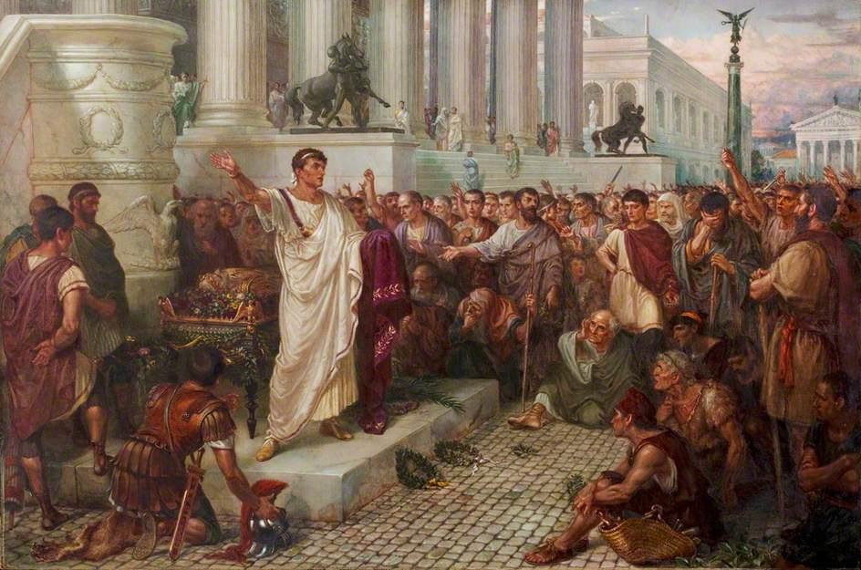 Dicas de oratória: Júlio César discursando