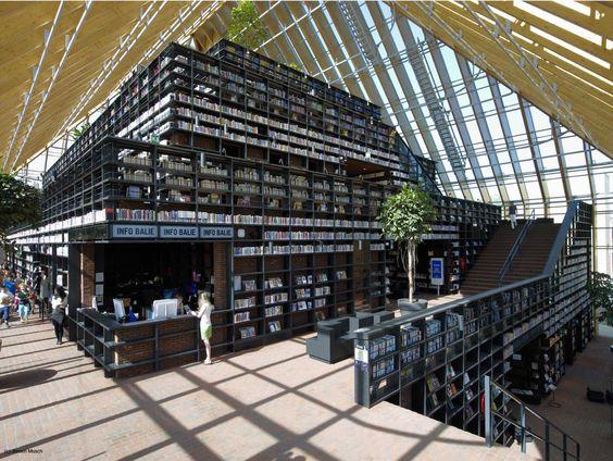 mvrdv-biblioteca-em-spijkenisse