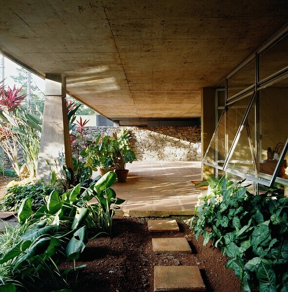 Vilanova Artigas: Casa Mendes André (Paisagismo)