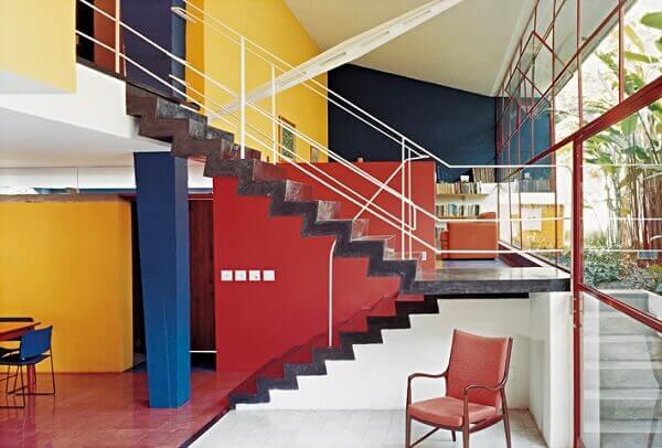 Vilanova Artigas: Casa Olga Baeta (Interior)