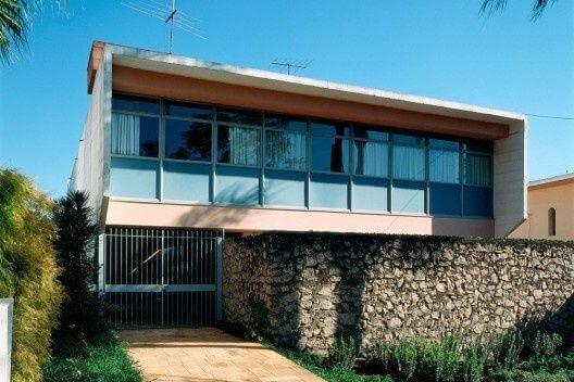 Vilanova Artigas: Casa Taques Bittencourt (Fachada)