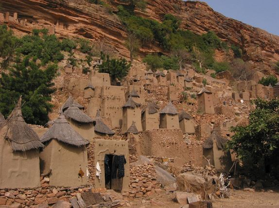 arquitetura-africana-dogons