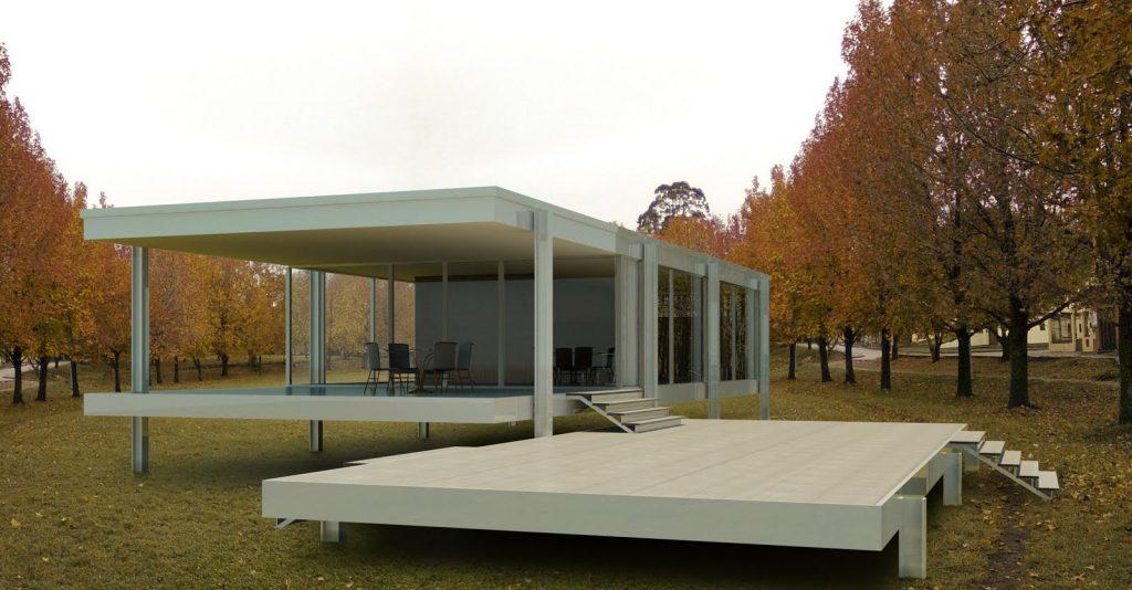 arquitetura-minimalista-casa-farnsworth