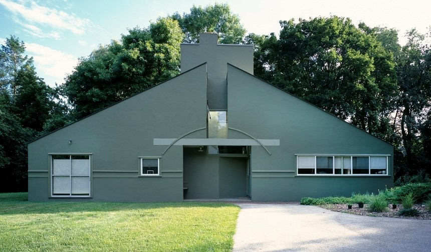 arquitetura-minimalista-vanna-venturi-house