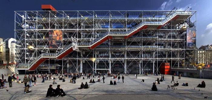 obras-de-arquitetura-famosas-centro-pompidou