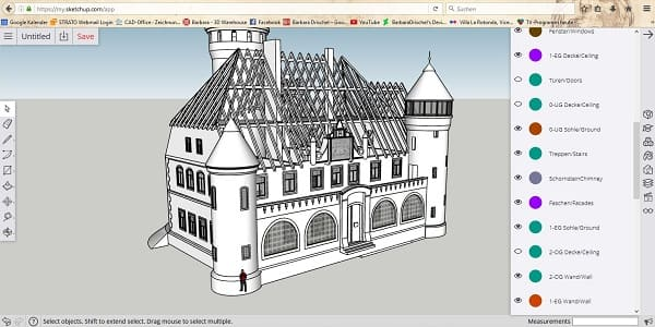 Sites para arquitetos: My Sketchup