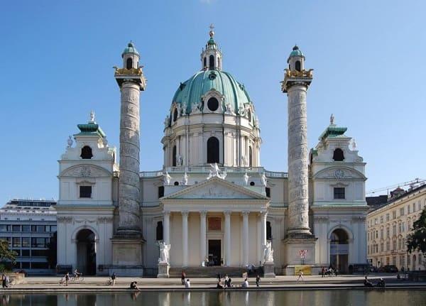Arquitetura barroca: Igreja Karlskirche