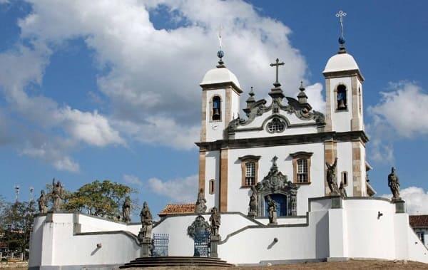 Arquitetura barroca: Santuário do Bom Jesus dos Matosinhos