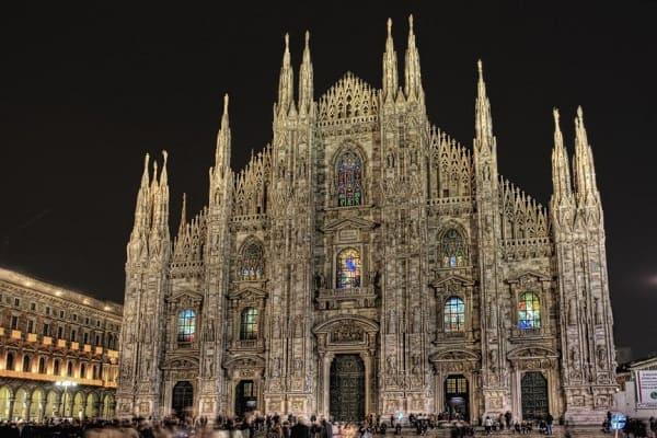 Arquitetura gótica: Catedral de Milão