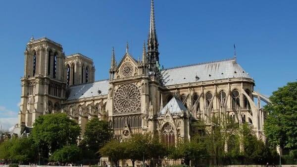 Arquitetura gótica: Catedral de Notre Dame