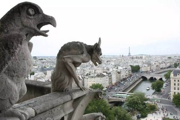 Arquitetura gótica: Gárgulas