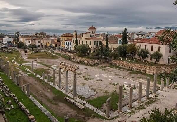 Arquitetura grega: Ágora
