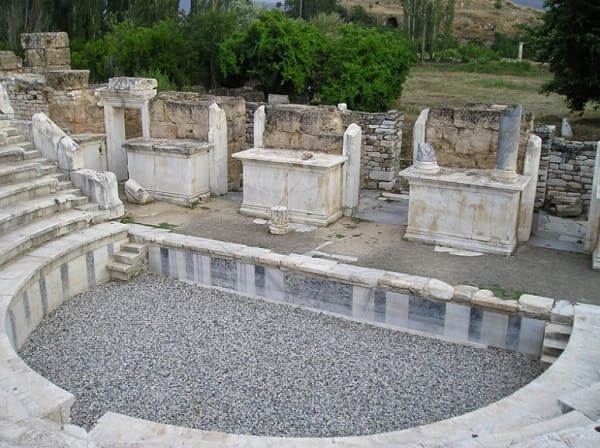 Arquitetura grega: Bouleuterion