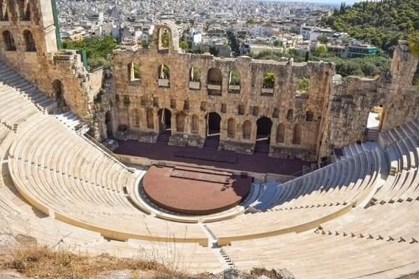Arquitetura grega: Teatro de Herodes
