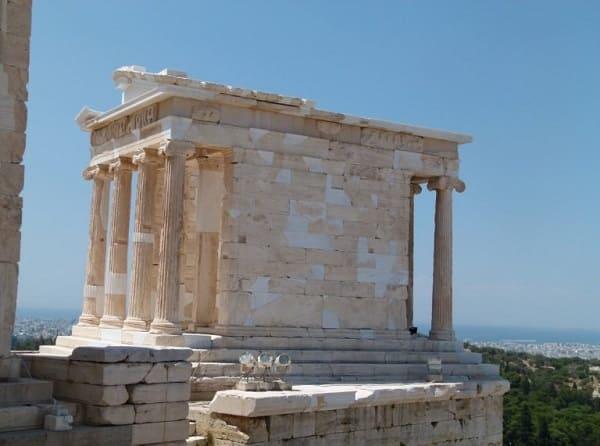 Arquitetura grega: Templo de Athena Nike