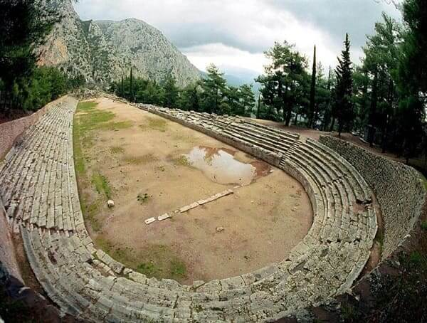 Arquitetura grega: estádio grego